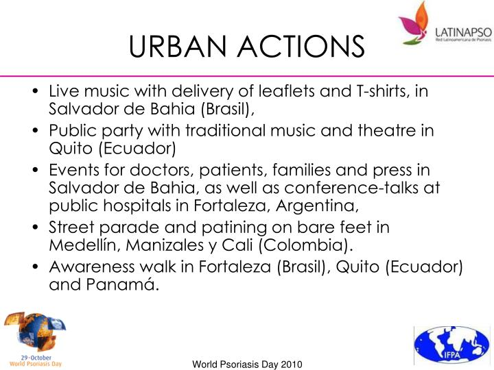 URBAN ACTIONS