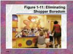 figure 1 11 eliminating shopper boredom