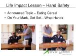 life impact lesson hand safety1