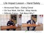 life impact lesson hand safety2