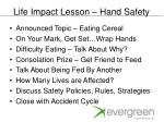 life impact lesson hand safety4