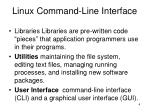 linux command line interface1