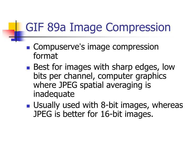 GIF 89a Image Compression