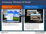 introducing windows xp mode