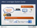 vnext leverages system center