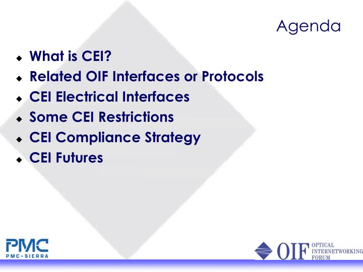 What is CEI?