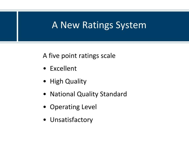 A New Ratings System