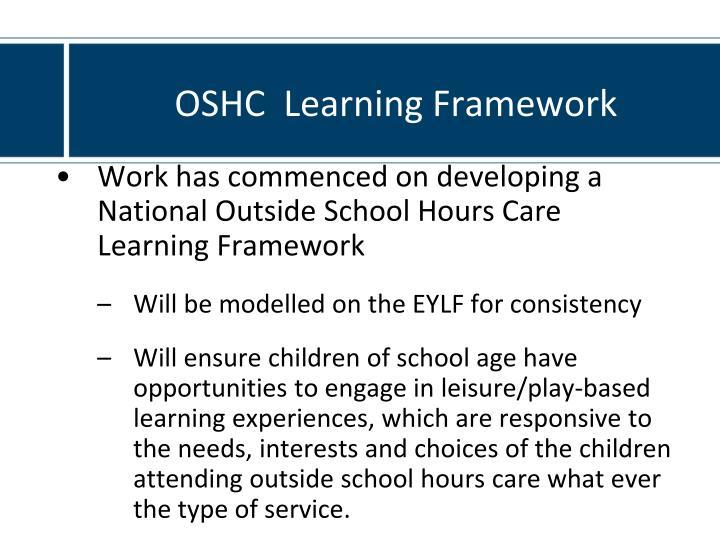 OSHC  Learning Framework