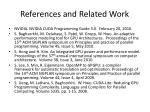 references and related work