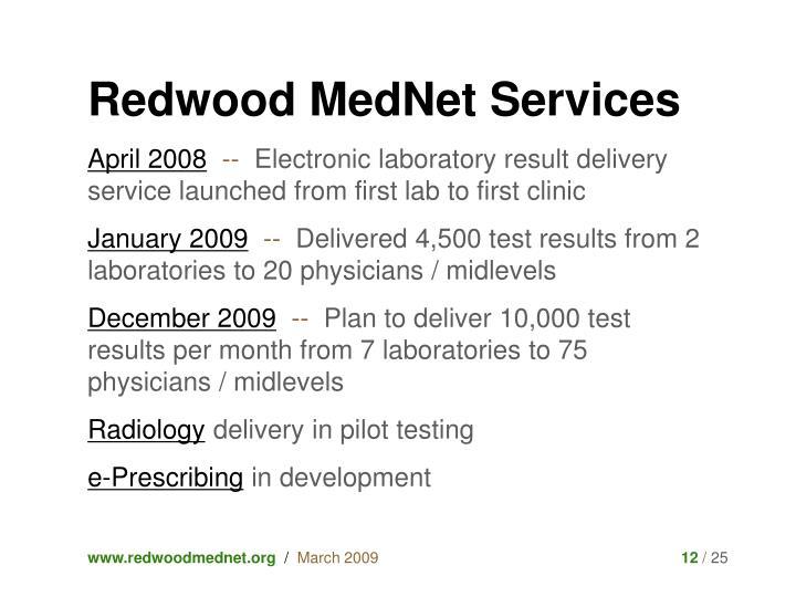 Redwood MedNet Services