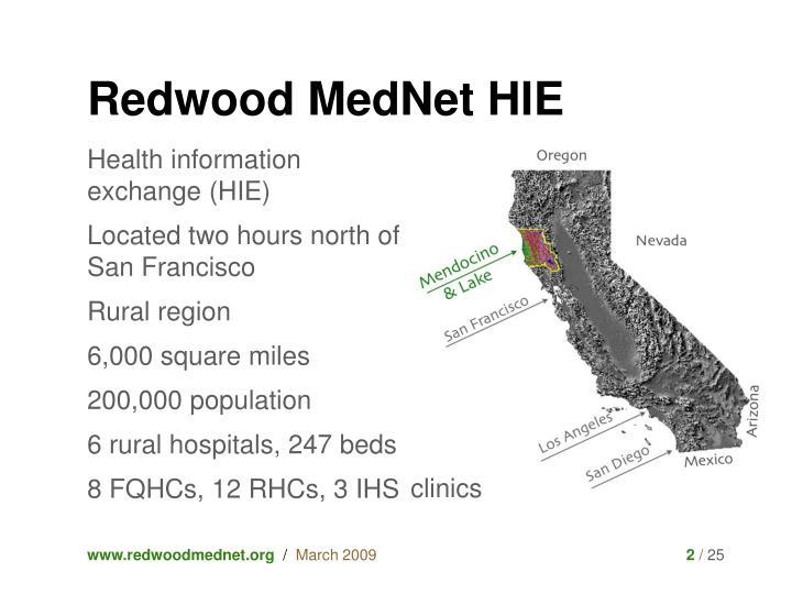 Redwood MedNet HIE