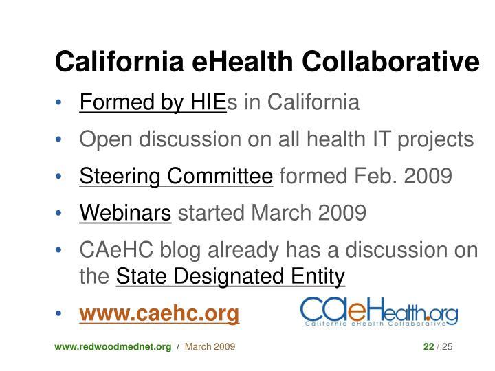 California eHealth Collaborative
