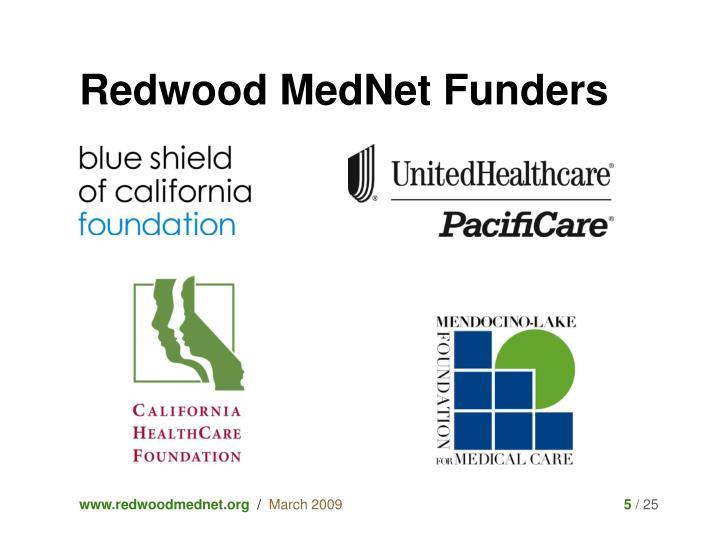 Redwood MedNet Funders