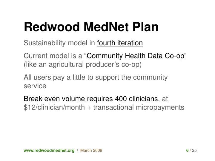 Redwood MedNet Plan