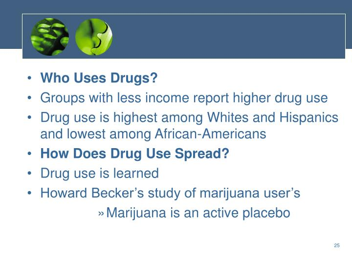 Who Uses Drugs?