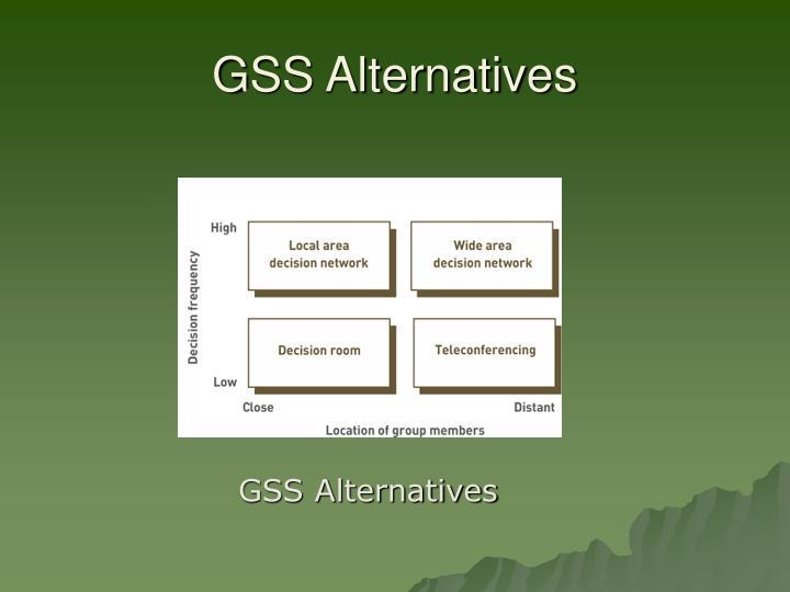 GSS Alternatives