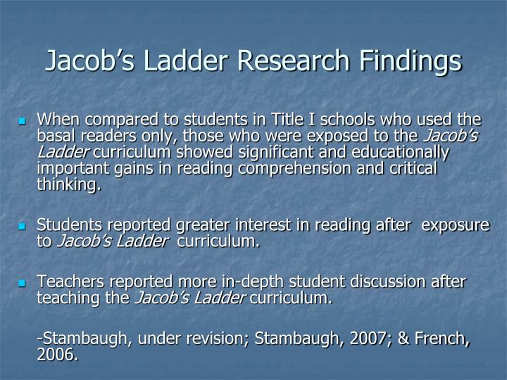 Jacob's Ladder Research Findings