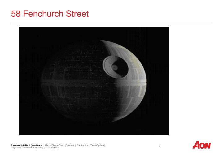 58 Fenchurch Street