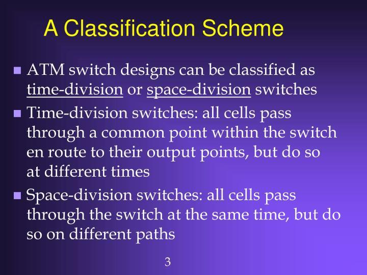 A Classification Scheme