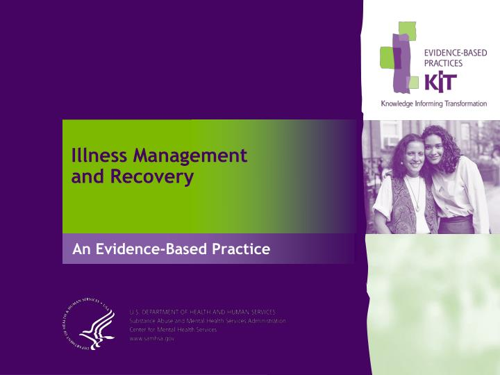 illness management and recovery