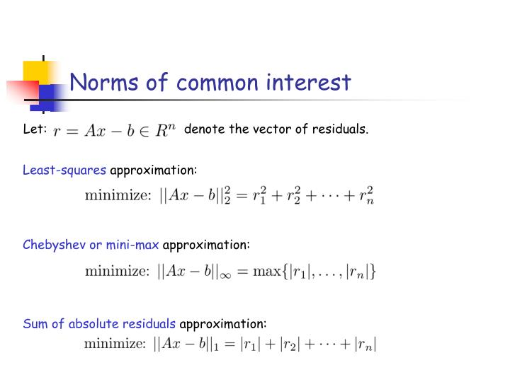 Norms of common interest