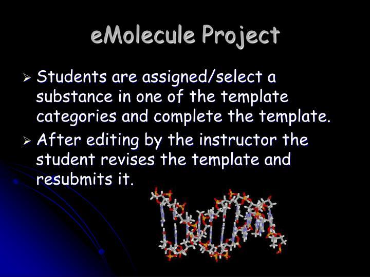 eMolecule Project
