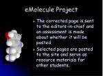 emolecule project1
