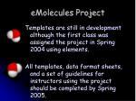 emolecules project2