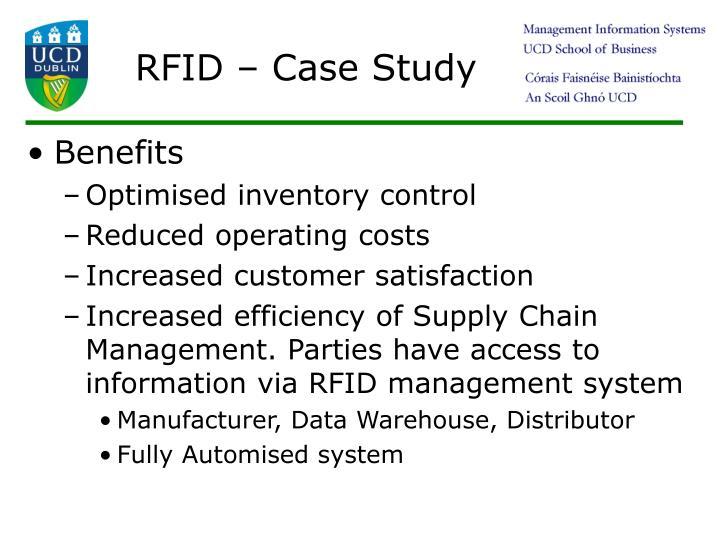 RFID – Case Study