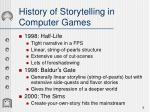 history of storytelling in computer games4