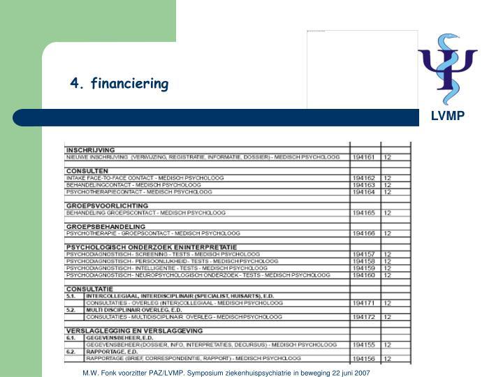4. financiering