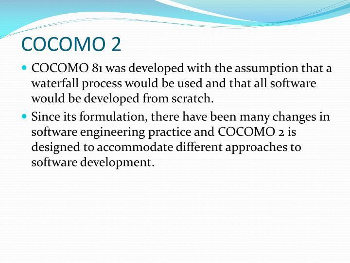 COCOMO 2