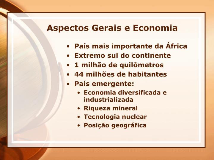 Aspectos Gerais e Economia