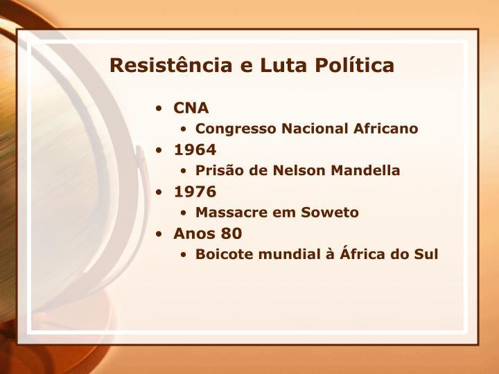 Resistência e Luta Política