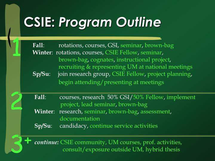CSIE: