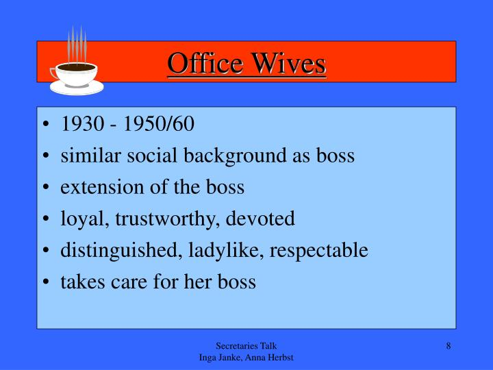 Office Wives
