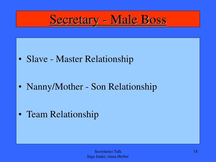 Secretary - Male Boss