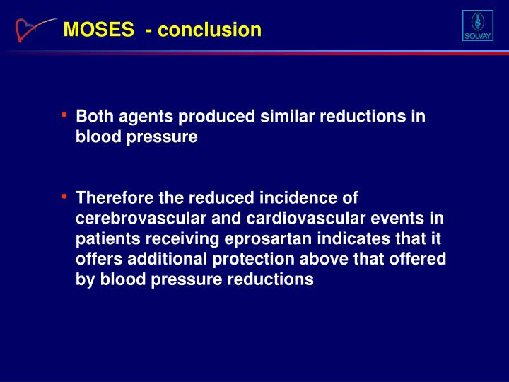 MOSES  - conclusion