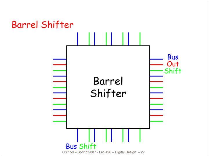 Barrel Shifter