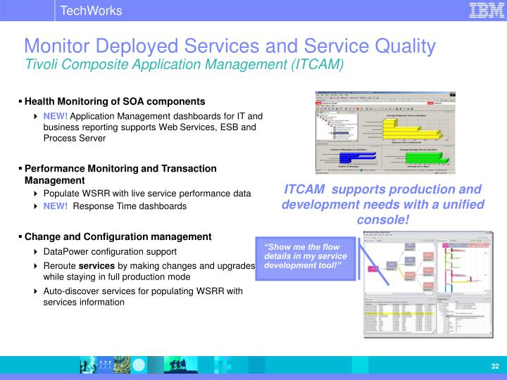 Monitor Deployed Services and Service Quality