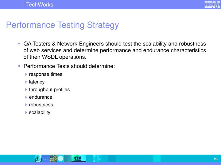 Performance Testing Strategy