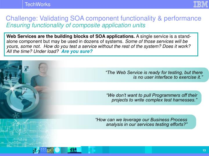 """How can we leverage our Business Process analysis in our services testing efforts?"""