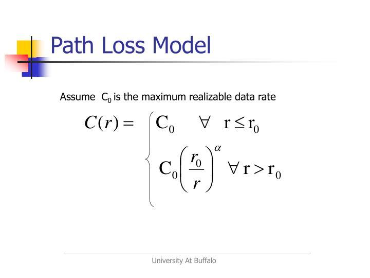 Path Loss Model
