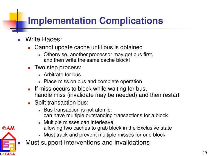 Implementation Complications