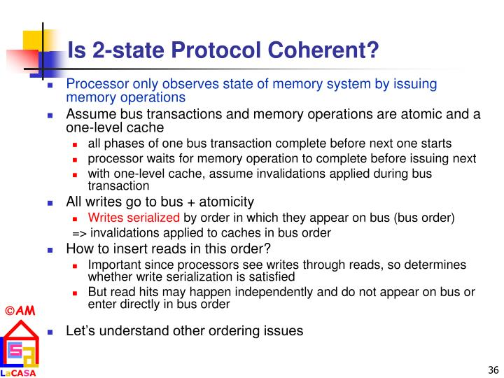 Is 2-state Protocol Coherent?