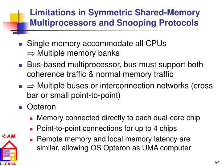 Limitations in Symmetric Shared-Memory Multiprocessors and Snooping Protocols