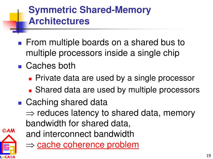 Symmetric Shared-Memory Architectures