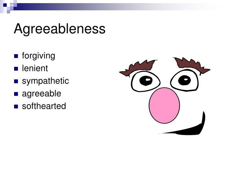 Agreeableness