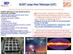 glast large area telescope lat