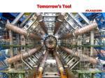 tomorrow s tool